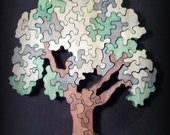 Standing Wooden Tree Puzzle