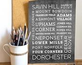 Dorchester Poster - 11x14