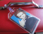 Simply Red - Men and Women - Upcycled Cassette Tape - Luggage, Back Pack, Musical Instrument Case or Bag Tag