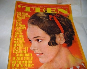 Books and  Zines....Teen  Magazine....October 1965 ......CO1