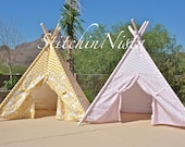 StitchinNista TeePee (Custom, Made to Order) - Fort Tent Indoor Outdoor Play Photo Prop Tee Pee Playhouse