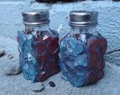 Mosaic Salt and Pepper Shaker Set