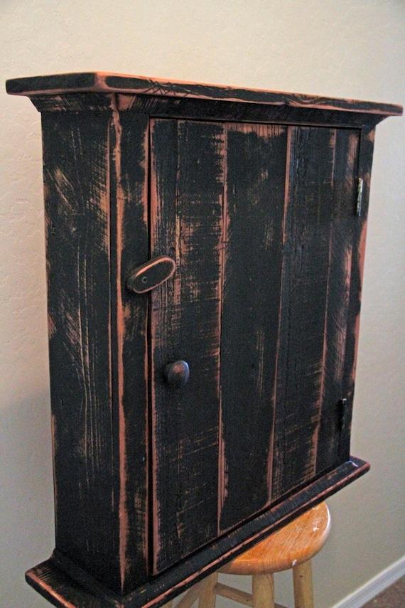 Items Similar To Primitive Wall Cabinet Primitive Kitchen