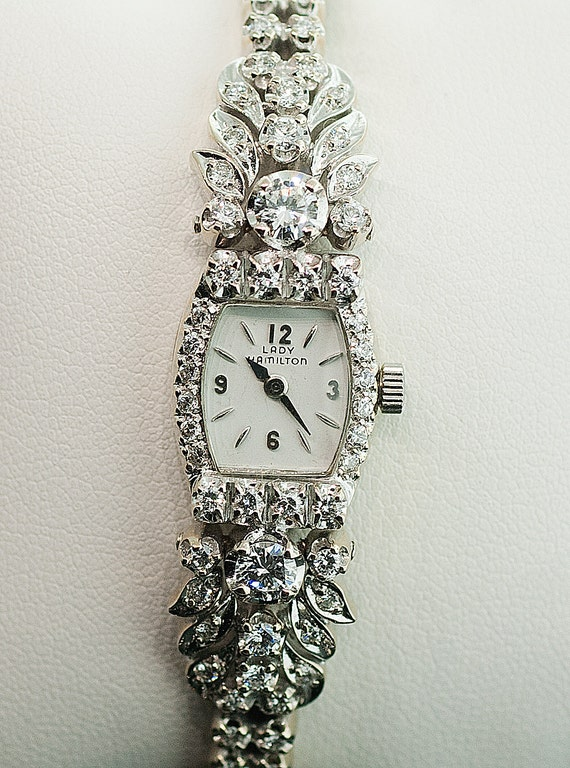 Hamilton Diamond Watch eBay