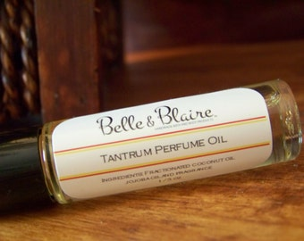 Tantrum Perfume Oil- Bourbon, Vanilla, Woody, Cocoa, Cherry, Pecan, Musk- Roll On Perfume