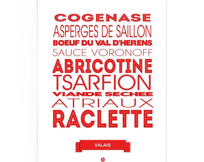 Poster Valais Foodie