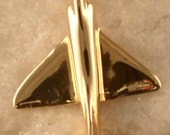 14kt Gold or Silver A4 Skyhawk Airplane Pendant