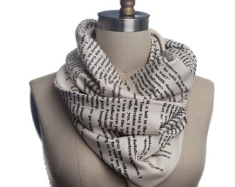 The Great Gatsby Book Scarf