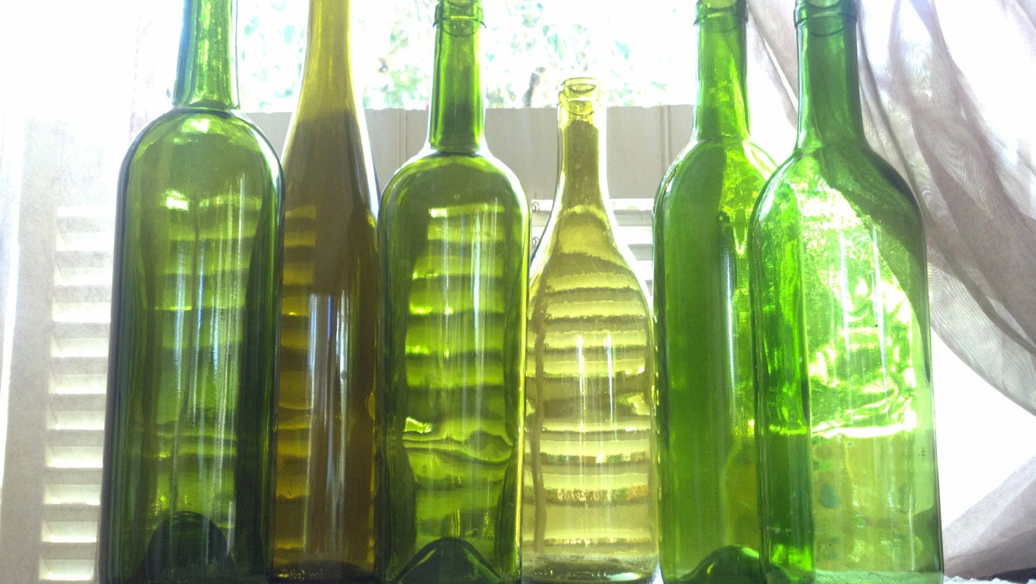 Request a custom order and have something made just for you for Creative ideas for empty wine bottles