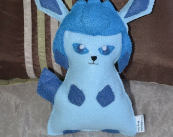 Glaceon Felt Wall-Hanging plush