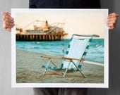 Jersey Shore and Casino Pier Photography, Summer Photo, Seaside Heights NJ, Beach and Ocean Print 16x20
