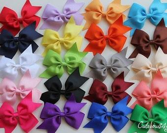 10 % off Hair bows for sale - sale hair bows - hair bows on sale.  Set of 40 hair bows