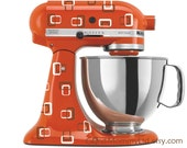 A Very Brady Mixer - Retro Decals for Your Kitchenaid Stand Mixer