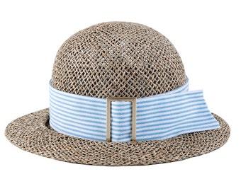 Women's Summer Hats , Straw hat With Short Brim, Liri