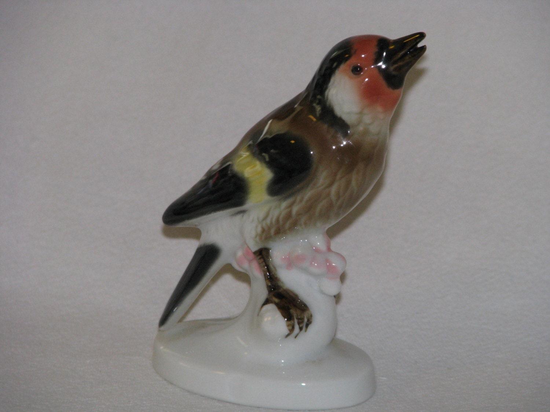 gerold porzellan bavaria western germany bird figurine. Black Bedroom Furniture Sets. Home Design Ideas