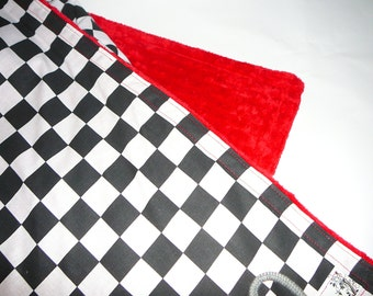 Race Fan Baby Blanket