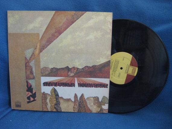 Rare Stevie Wonder Quot Innervisions Quot Vinyl Lp Record