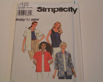 Simplicity Pattern 7122 easy to sew Miss Skirt Top