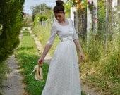 Vintage Wedding Dress, Lace Wedding Dress, SuzannaM Designs, Long Sleeve Wedding Dress, Vintage Wedding Gown, Vintage Bridal Dress, Maryse