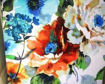 Poppy Garden Fabric Panel 110 x 110cm