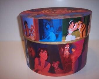 Price drop!  Aladdin XL Round Trinket box  Available now