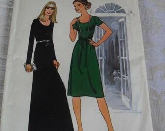 Vintage 1970s DressPattern