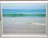 Photo card, Laguna Beach, ocean, blue, aqua