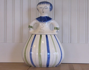 Hedi Schoop Cookie Jar, Darner Doll, Cookie Jar, Hedi Schoop, California Pottery, Los Angeles Potteries