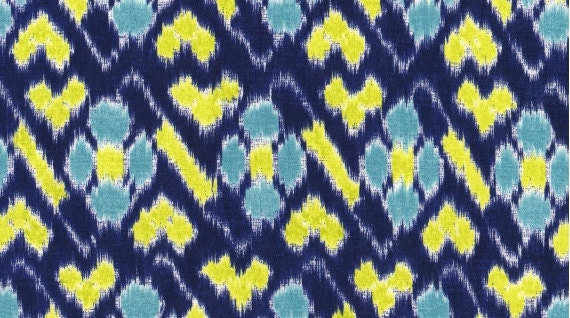 DEAR STELLA--Maasai Mara--Mara--Blue--100% cotton fabric--price is per yard