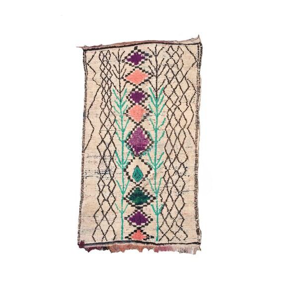 Maroc Tribal Rug: WILDFIELD RUG 8'x5' Moroccan Tribal Rug