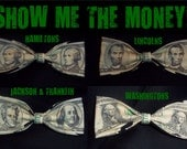 Show Me the Money - 100% (C00L) COLD CASH Bow Ties - U.S.SHIPPlNG ALWAYS 1.99
