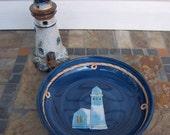 Large Lighthouse Bowl