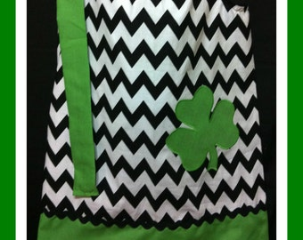 Chevron Shamrock Dress