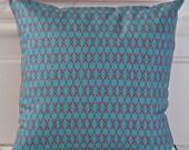 Hand-Made Polka Dot Beetle Print Cushion