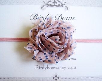 Mini Pink Polka Dot, Baby Headbands, Baby Girl Headbands, Infant Headbands, Infant Bows, Baby Bows, Newborn Headbands