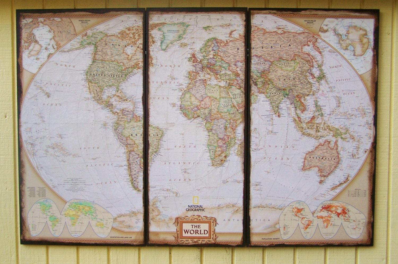 zoom - World Map Decor