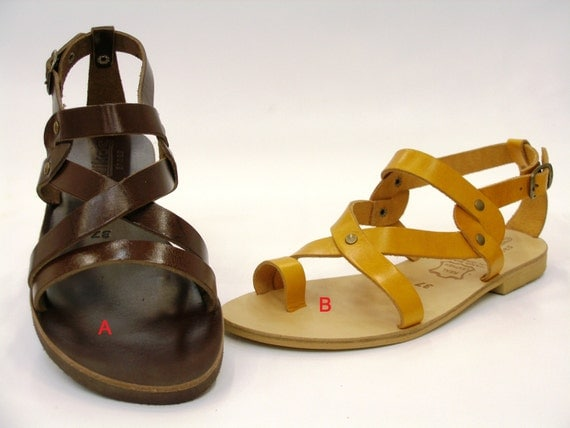 Summer Shoes - Leather sandals