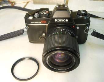 KONICA  AUTOREFLEX  TC   Camera  -  Very  Nice  Konica  35mm  Camera