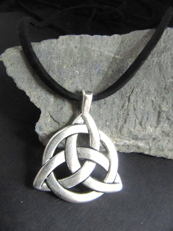 s boy s large celtic knot necklace on