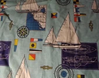 Nautical Twin Bedspread