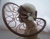 Derby/Wedding Hat White