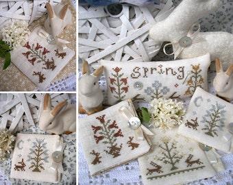 My Sweet Spring - PDF Cross Stitch Patterns Set