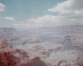 Grand Canyon Summer 1967 - Arizona - Holga - 5x5 square matte print