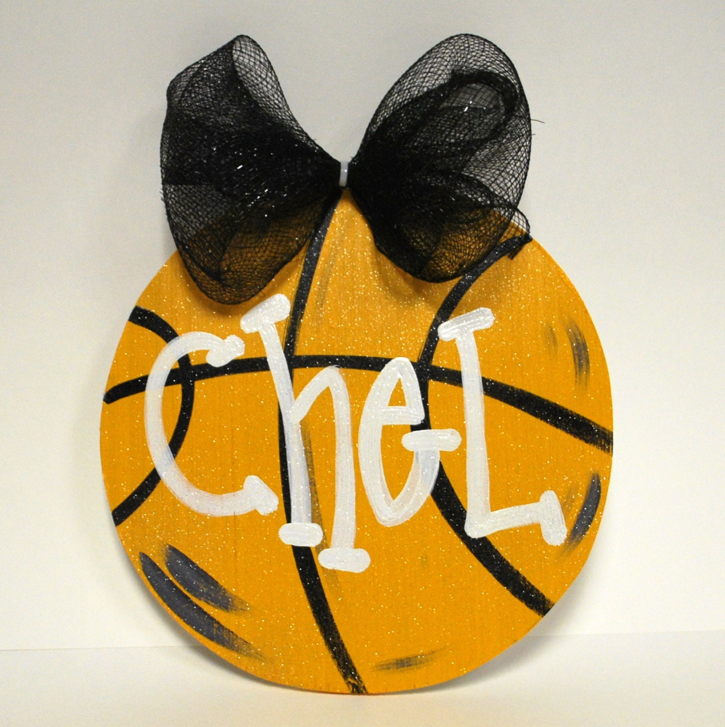 Basketball Door Hanger Basketball Team Gift Basketball Decor