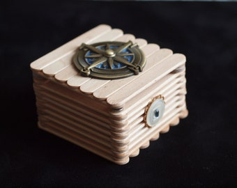 Compass Popsicle Box