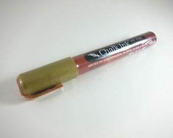 Chalk Ink Marker - Metallic Gold