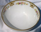 Small Nippon Decorative Footed Bowl