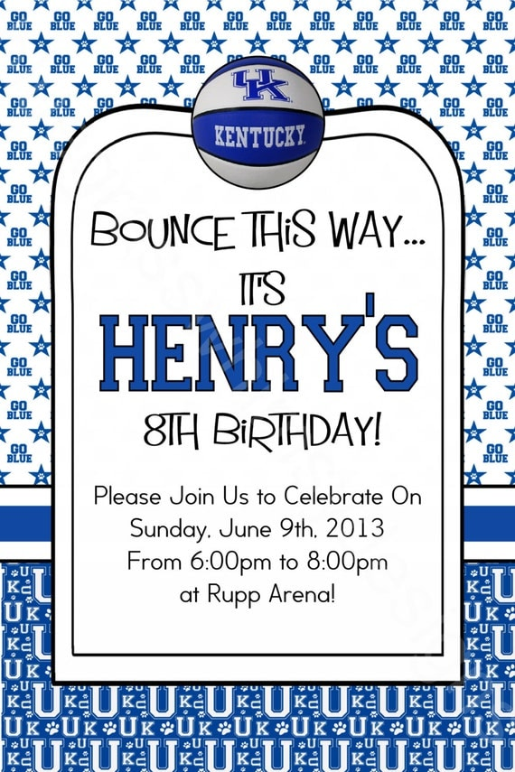 University of kentucky uk wildcats birthday party like this item stopboris Image collections