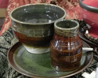 Feast ware set with mead cup