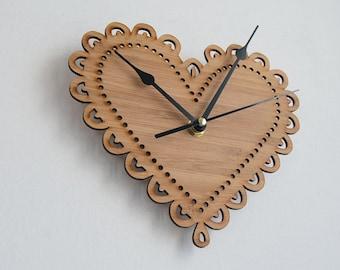 The Original Decorative Heart Clock